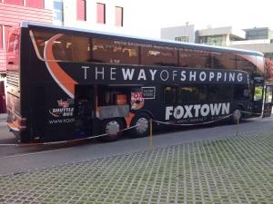 フォックスタウンにミラノから行く場合のバス