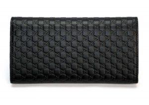 イタリアのグッチ アウトレットで購入した財布の裏側