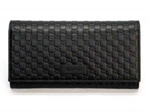 イタリアのグッチ アウトレットで購入した財布の外観